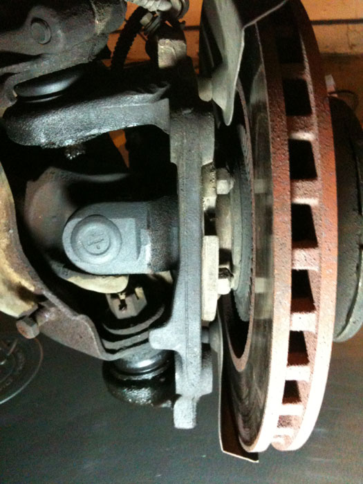 repair u joint and ball joint on 1994 ford ranger 4x4